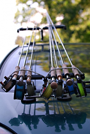 Gear - Rods ready on the Global FlyFisher Summit - one of the highlights of the year
