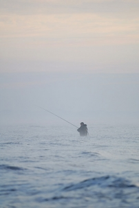 Angler in the mist - This German guy kept on catching fish on this beautiful morning