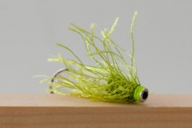 GYMTF - The Green Yarn Mullet Tube Fly