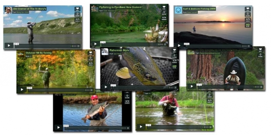 Online fly fishing -