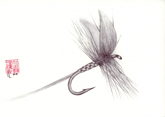 Dry fly -