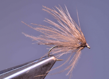 CdL Caddis Emerger - The emerger features soft materials in dull, natural colors