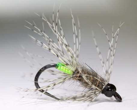 Buggy looking - An excellent caddis pupa and emerger imitation with some weight to bring it down