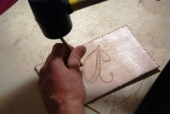 Punching the outline -