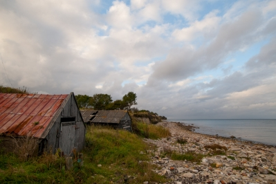 Old fishing houses - You will often find small boat houses or sheds close to the shore