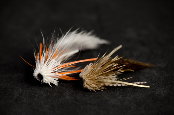 Sea Trout Munkers - One lighter and larger, one darker and smaller - both fine goby imitations