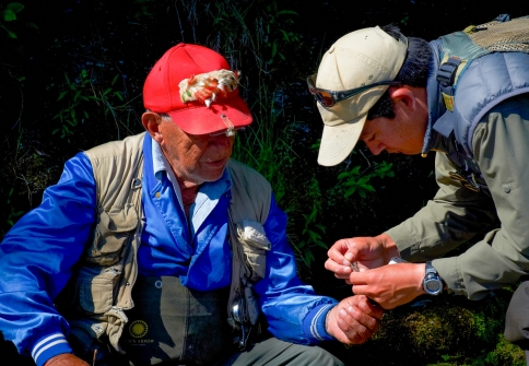 Sound advice - Getting advice from an oldtimer on the river