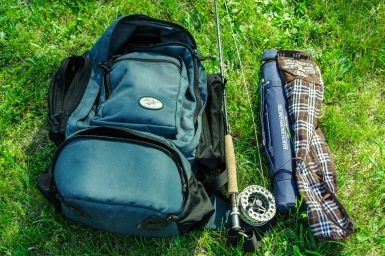 The fly fishing pack -