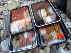 Well stocked boxes - It\'s always a joy to see boxes stocked with a good selection of well tied flies