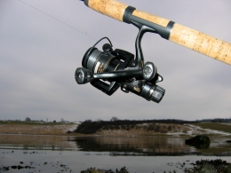 A spinning rod - Just for comparison