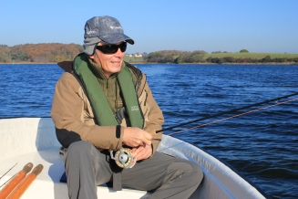 A head full of ideas - Joergen Chang has taught design for years but is relatively new to fly fishing.