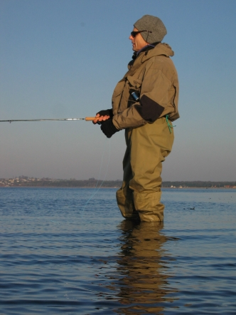 Not warm, but nice - Early spring fishing can be a cold experience, but is almost always a good one