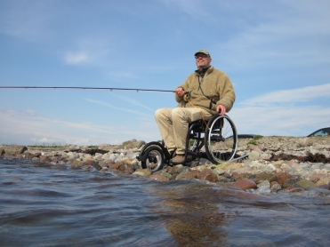 Not impossible - It\'s not the best place to fish from, but certainly better than not fishing!