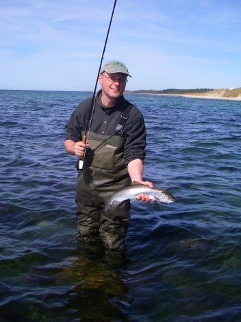 Myself - This is me with a Klympen caught sea trout