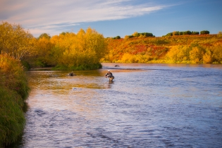 Kamtchatka autumn colors -