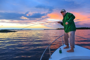 Setting the hook -