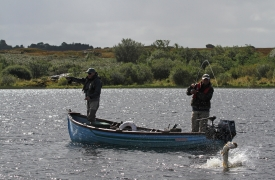 Irish lough fishing -