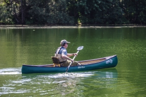 Paddling - You can paddle the solo cone like a kayak