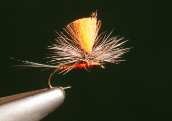 BWO Parachute Spinner - Rusty Brown Parachute Spinner size 16