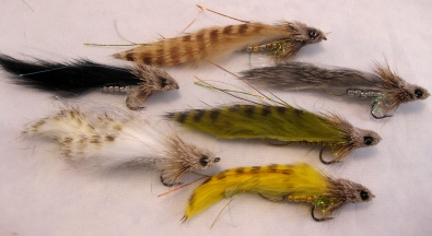 Variations - A number of Rattlesnake color variations from the vise of Ray Schmidt