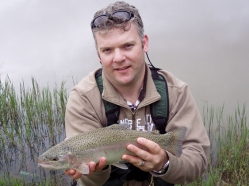 Artist and trout -