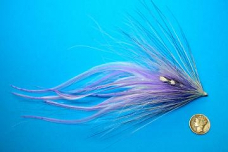 Large fly - Das Cephalopod is by no means a small fly, but it's lightweight and easy to cast