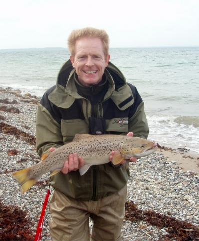 Sea trout! - German Kai Nolting had no reason to complain