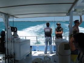 Party boat heads to sea - An inexpensive way to get out on the ocean