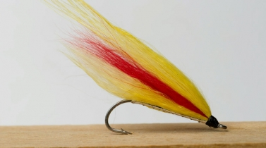 Polar Mickey - The classic Mickey Finn, but tied with hair from Arctic fox