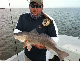 Roy with a redfish -