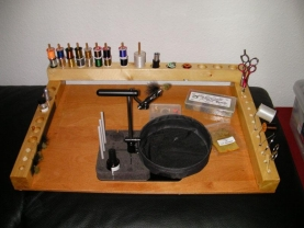 Lots of space - Ian Wilson\'s station has space for all the tools you need as well as some materials