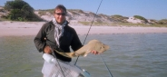 Jimmy with another sand shark -