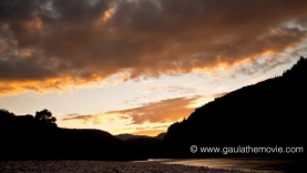 The gold of Gaula - Another breathtaking sky over the river