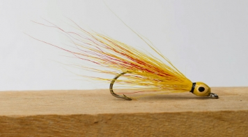 Thunder Creek Mickey - Kieth Fulsher\'s Thunder Creek tied in Mickey Finn colors
