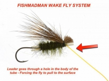 Rigging a waking fly -