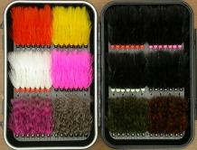 Ready to roll! - An impressing array of perfectly tied Perfect Woolly's