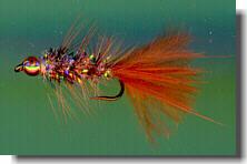 Chilli Pepper size #8   Bonefish Saltwater Flies