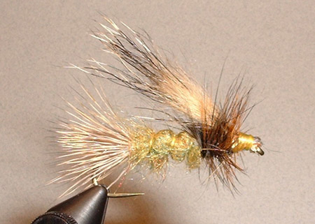 WOODCHUCK BODY FLY TYING MATERIAL