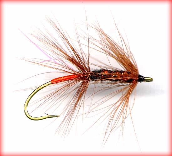 Lureflash Super Bug Yarn Black and orange