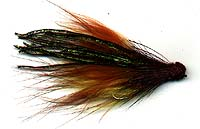 WHITLOCK'S MULTICOLORED MARABOU MUDDLER #1 Image