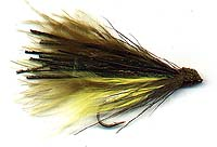 WHITLOCK'S MULTICOLORED MARABOU MUDDLER #2 Image