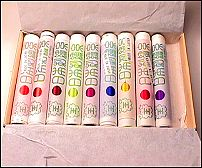 A box of Japanese floss silk