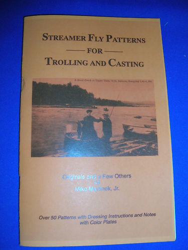 Mike Martinek Streamer Fly Patterns for Trolling and Casting Signed
