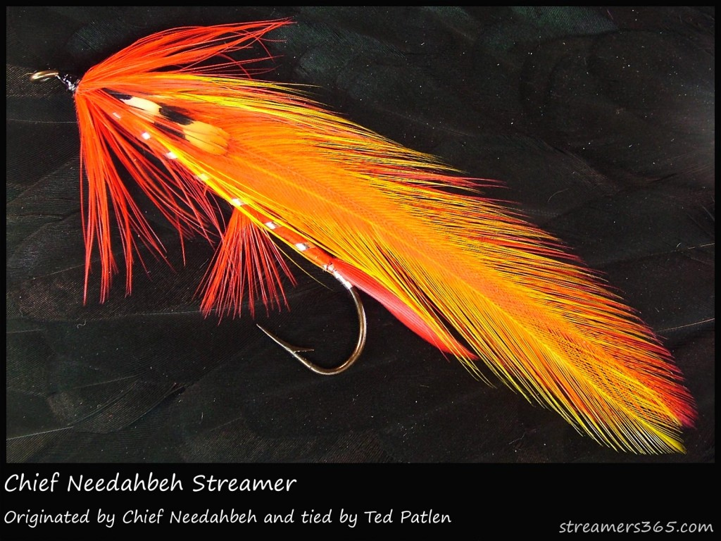 #123 Chief Needahbeh Streamer - Ted Patlen