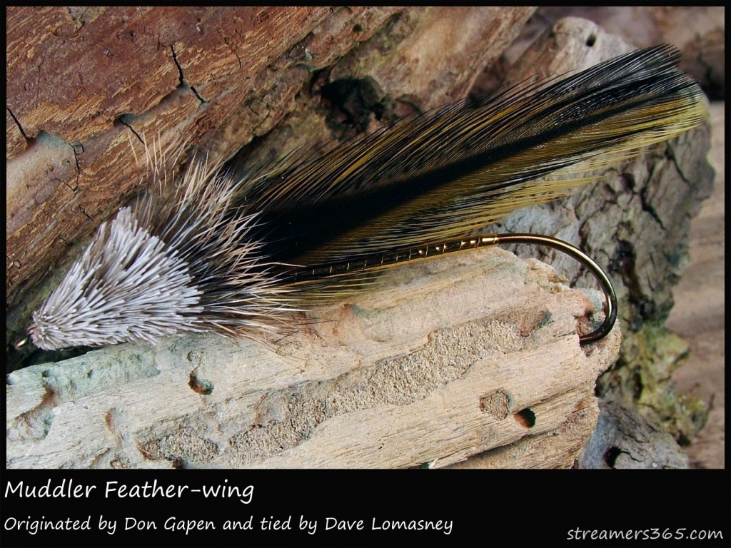 #285 Muddler Featherwing - Dave Lomasney