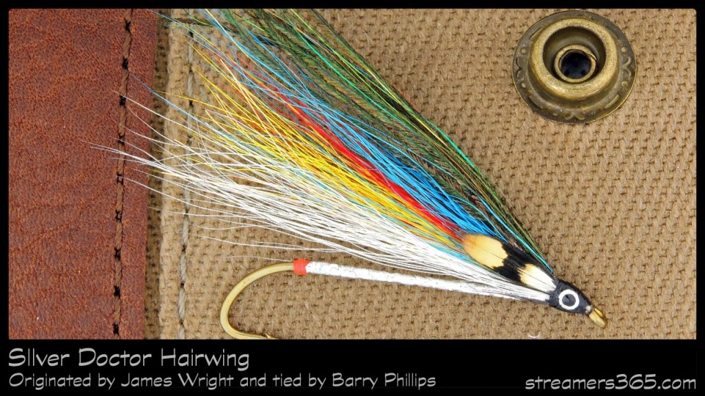 #99-2013 Silver Doctor Hairwing - Barry Phillips