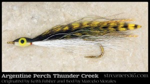Argentine Perch Thunder Creek by Marcelo Morales