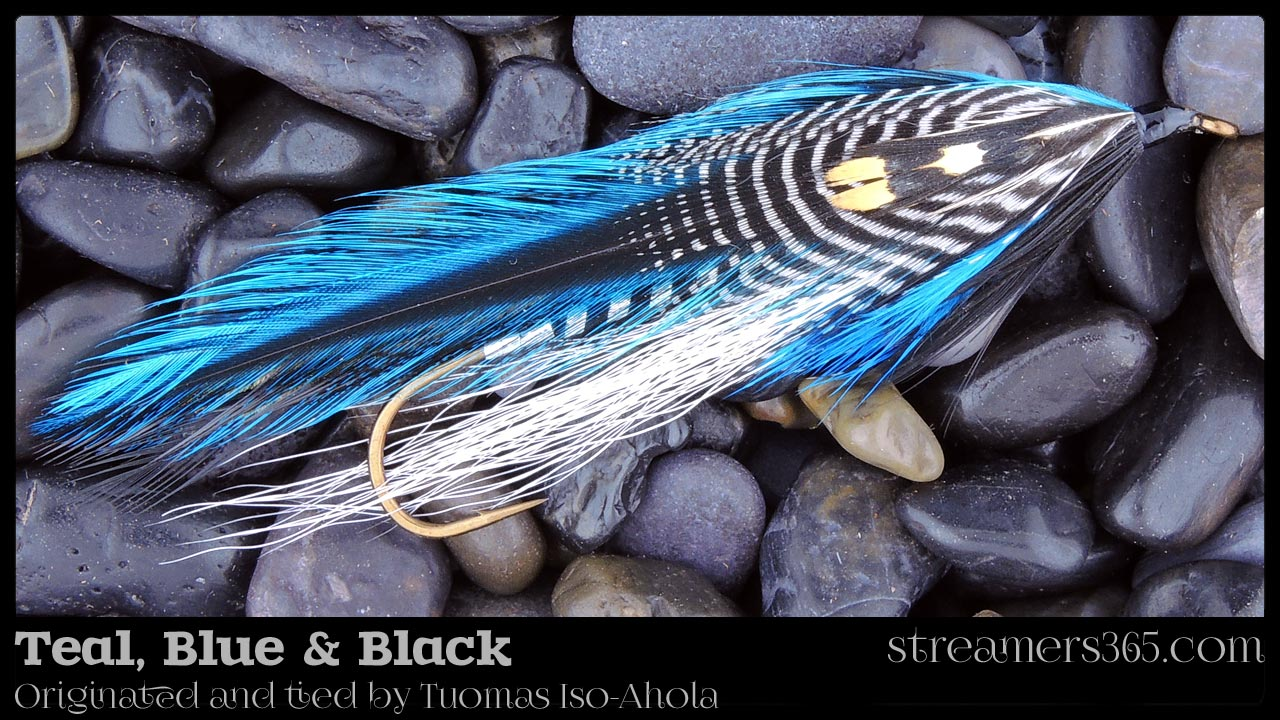 Teal Blue & Black - Tuomas Iso-Ahola