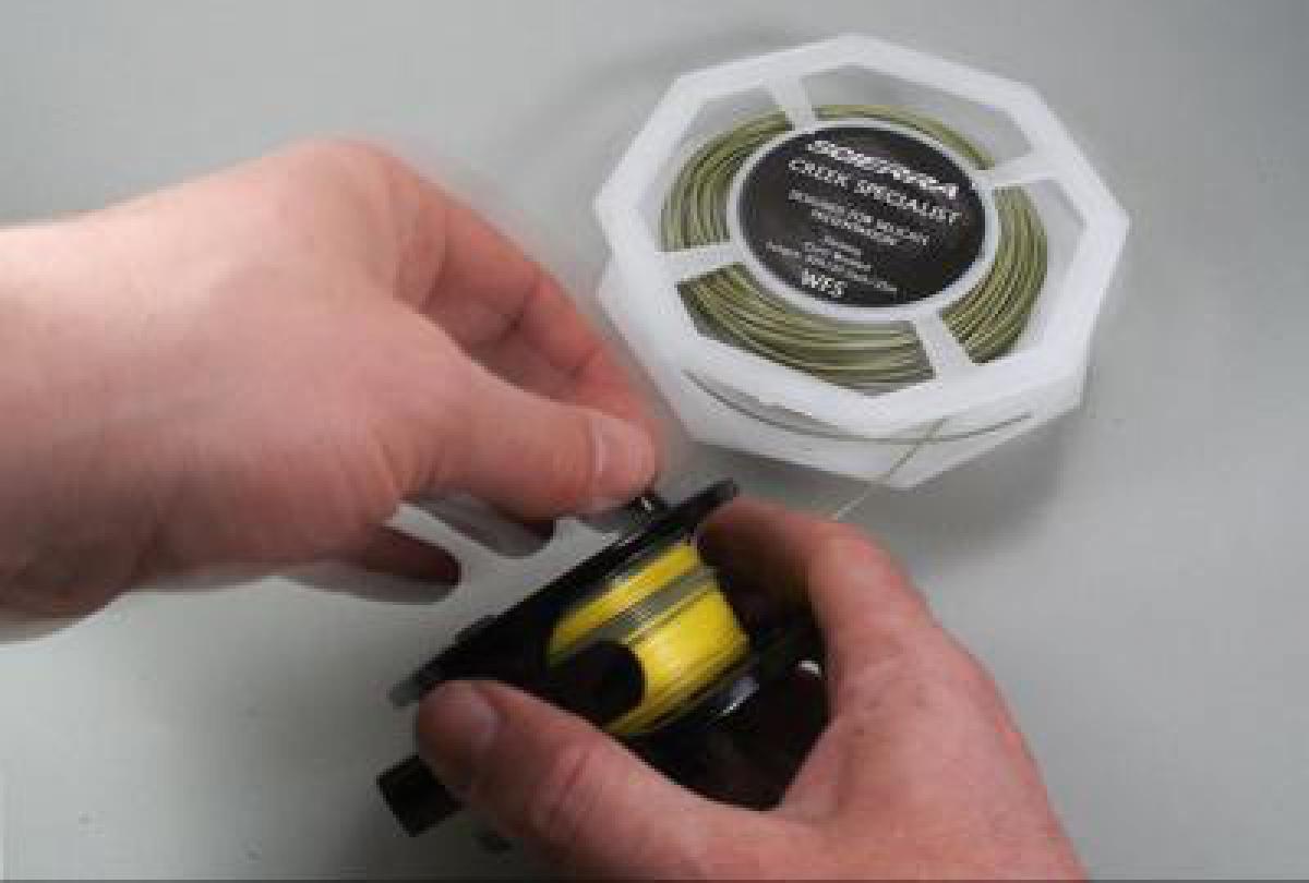 First setup | Global FlyFisher | Most of us know how, but this article is  for the ones who never set up a fly reel from scratch. See which knots will  work ...