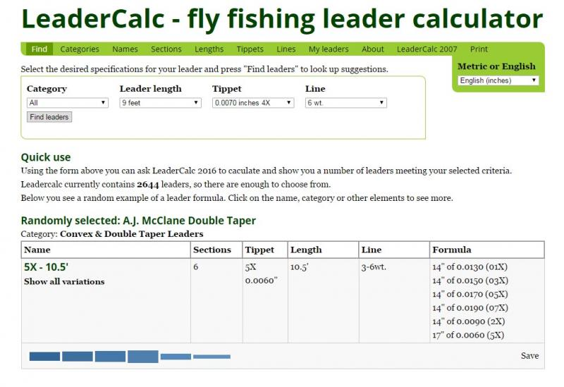 Dimensioning Leaders with LeaderCalc
